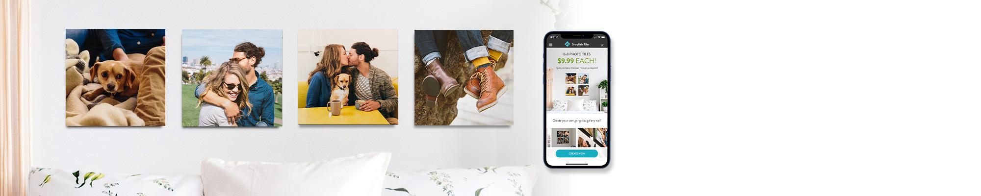 Photo Tiles App