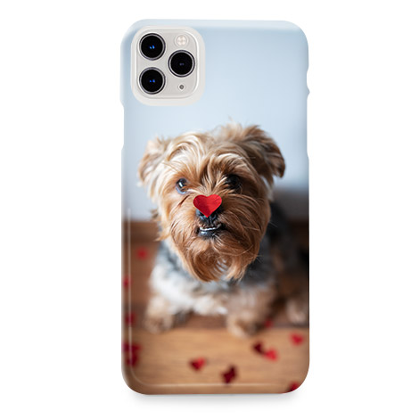Mobile phone case with dog image