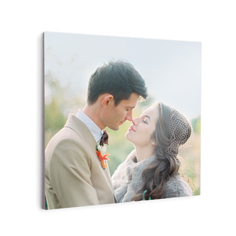 Photo tile with couple