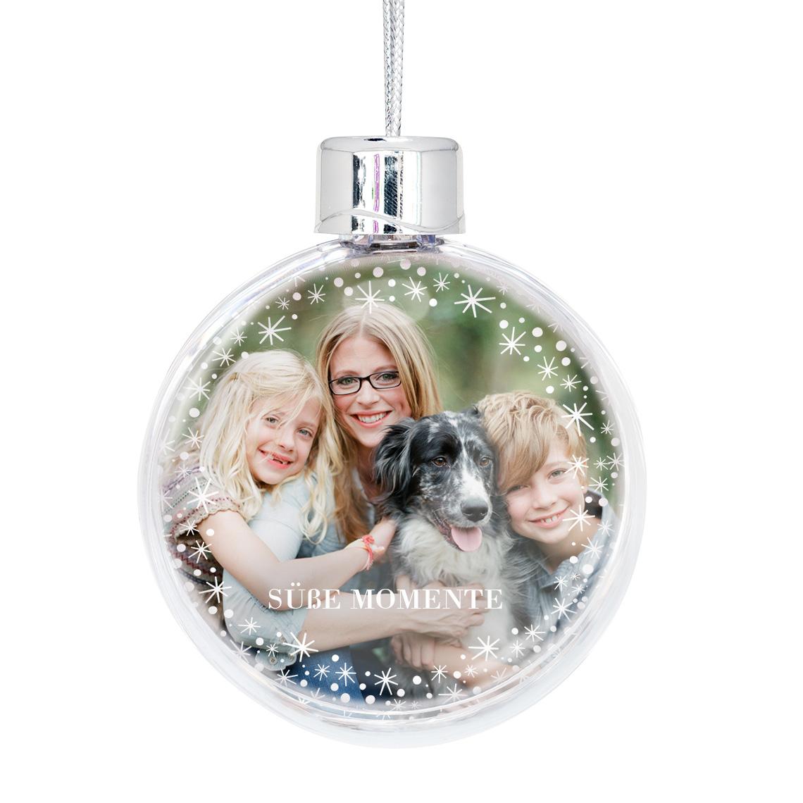 Personalisierte Christbaumkugel