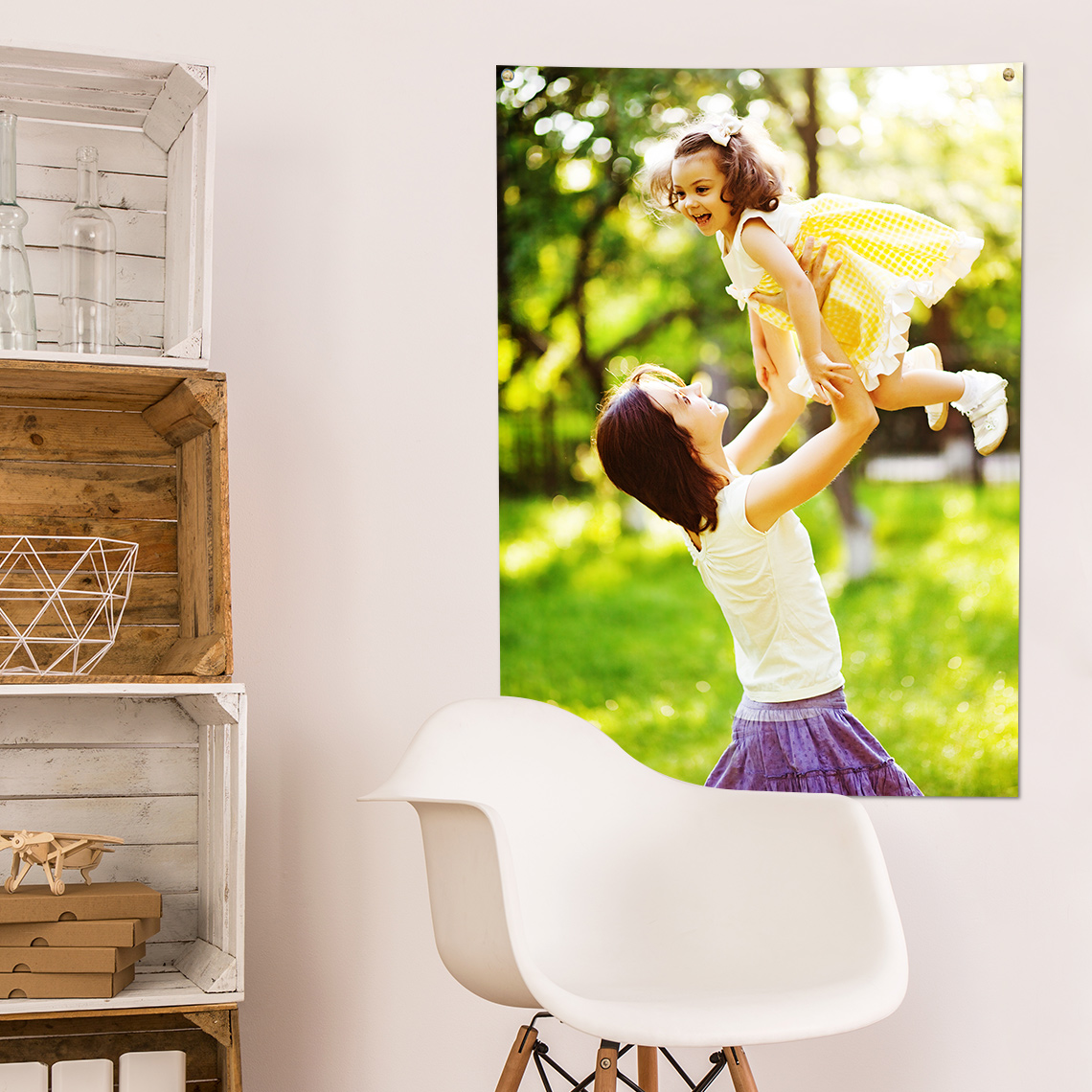 "An image of 15"" x 10"" (38x25cm) Personalised Photo Poster - Gloss Finish 