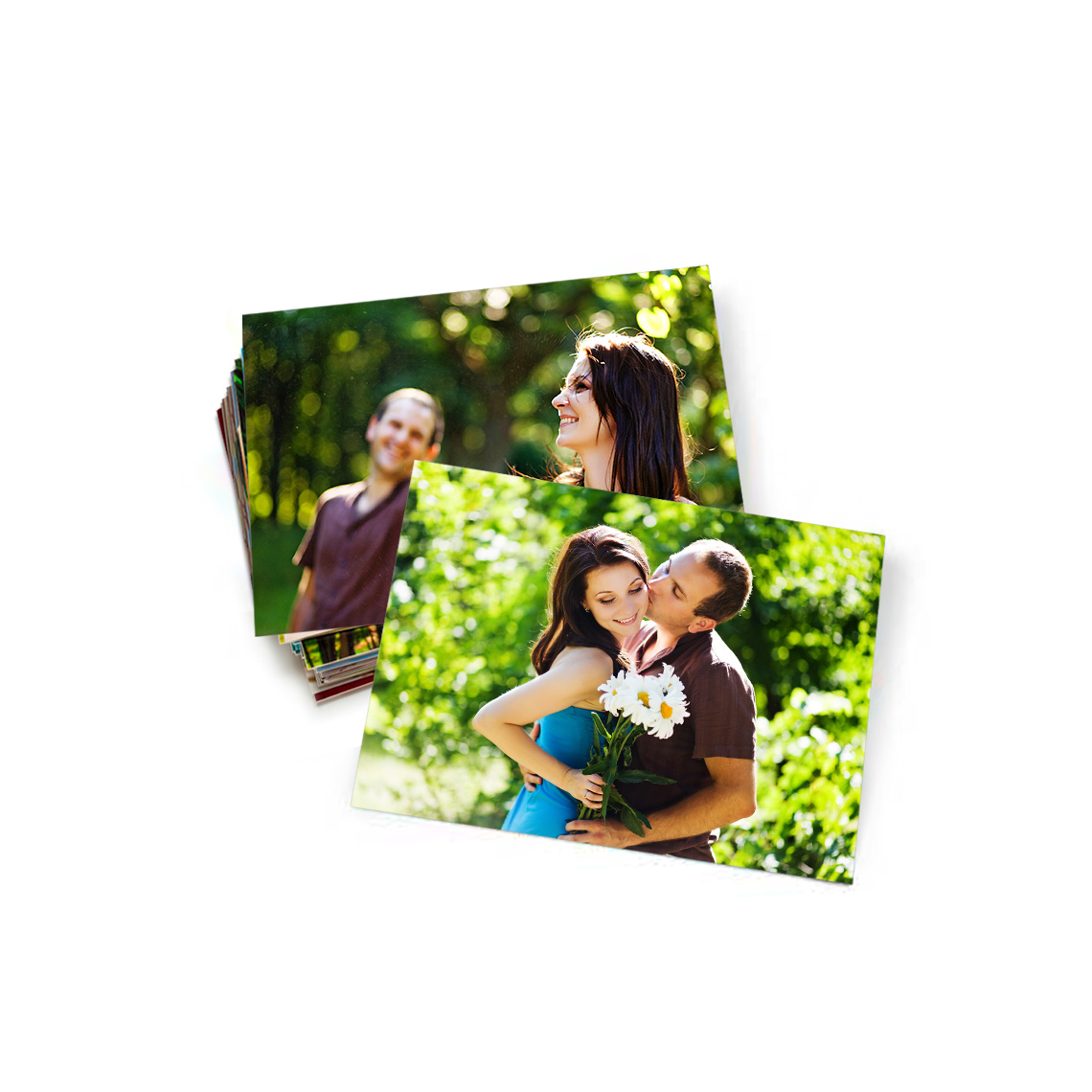 "An image of 5.3"" x 4"" (13x10cm) Personalised Photo Prints - Gloss 