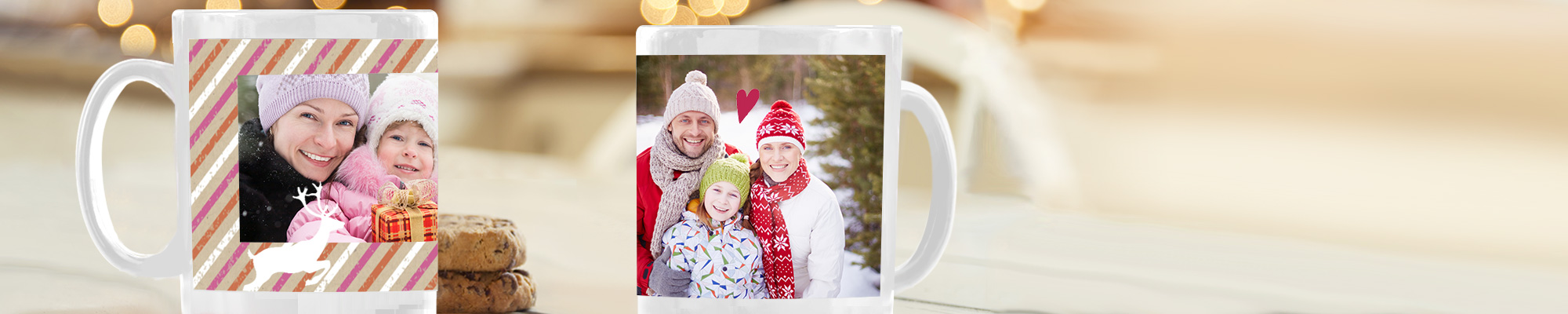 Photo Mugs : Enjoy the company of someone special everytime you take a sip. Great gift for the home or office.