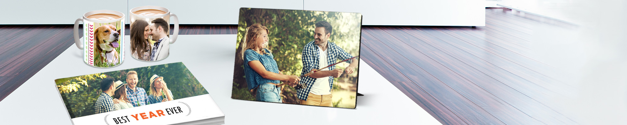 Personalised Gifts : For a quick gift using one photo, or a Photo Book with hundreds, you're at the right place!