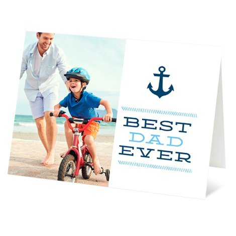 """""""Anchor"""" Design Father's Day Card"""