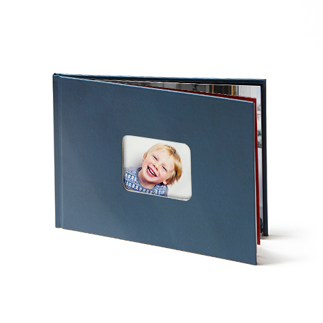 "11x8"" Leather Photo Book"