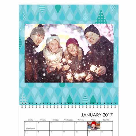 "12x12"" Square Wall Calendar"