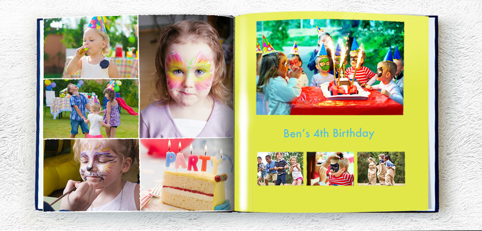 Personalised Birthday Party Books
