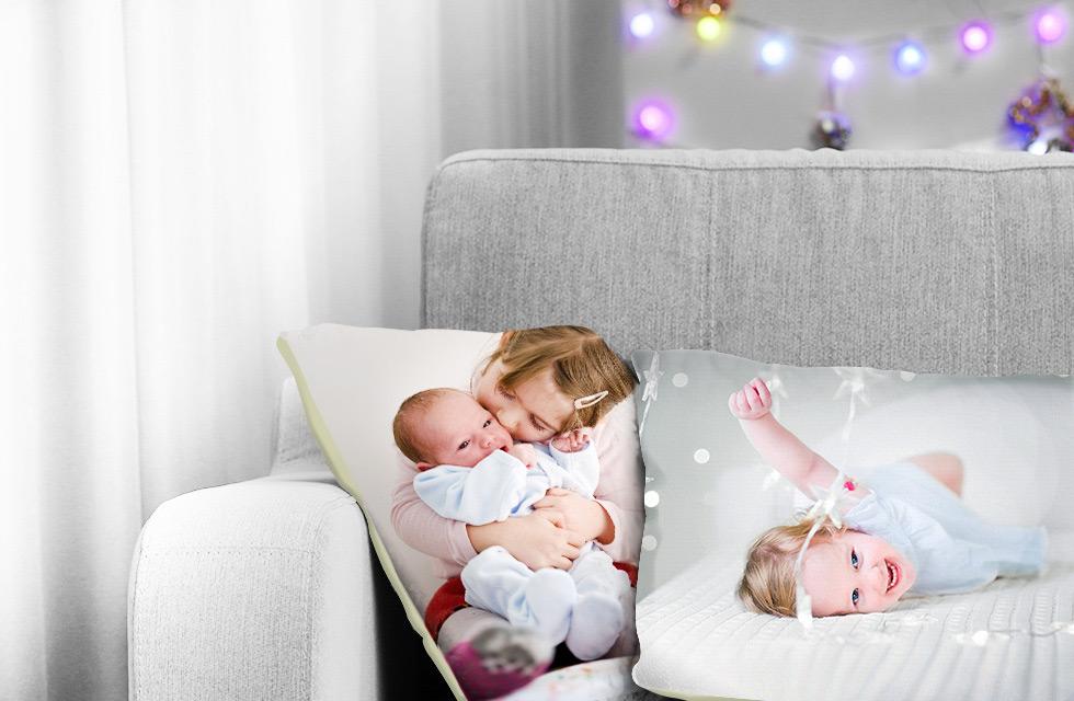 Photo Cushions & Blankets
