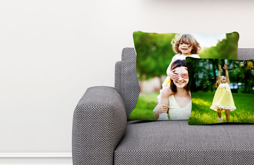 Personalised Photo Cushion - From £17.99