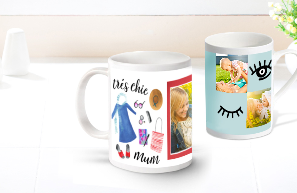 Personalised Mugs - From £7.99