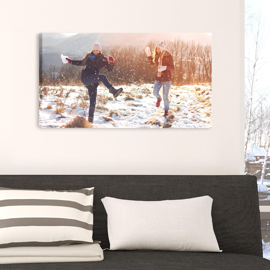 """An image of 10"""" x 8"""" (25x20 cm) Personalised Classic Canvas 