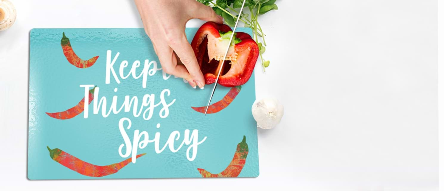 Brighten up your Home : 50% off Mugs, Cushions, Chopping Boards & more with code SPRINGCLEAN19