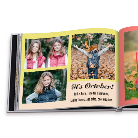 Photobook Design - Family Yearbook