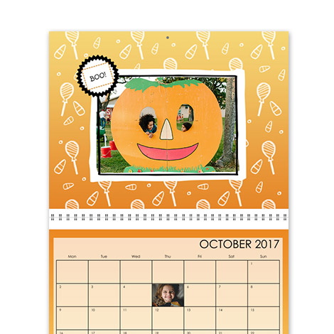 Calendar Design - Seasonal Brights
