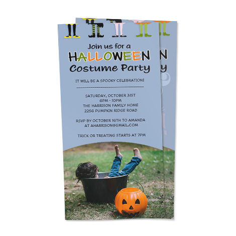 Invitation Design - Halloween Costume Party