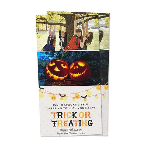 Invitation Design - Trick Or Treat
