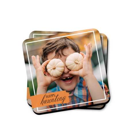 Personalised Photo Coasters From £4.99