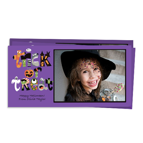 Invitation Design - Halloween Creatures