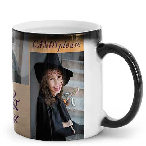 Personalised Magic Photo Mug Just £10.99