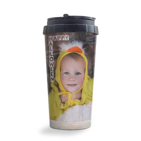Personalised Travel Mug Just £14.99