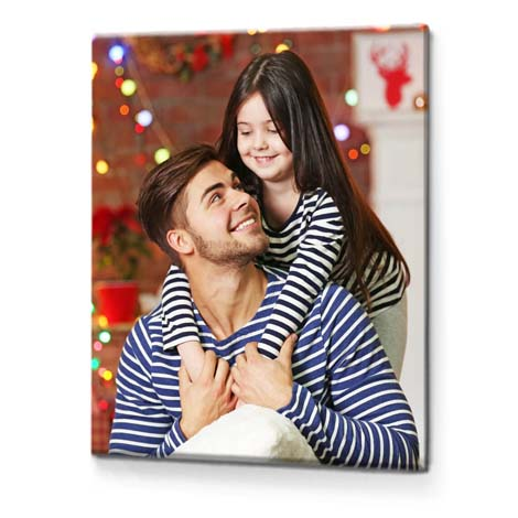 "12x8"" Slim Photo Canvas - £12.99"