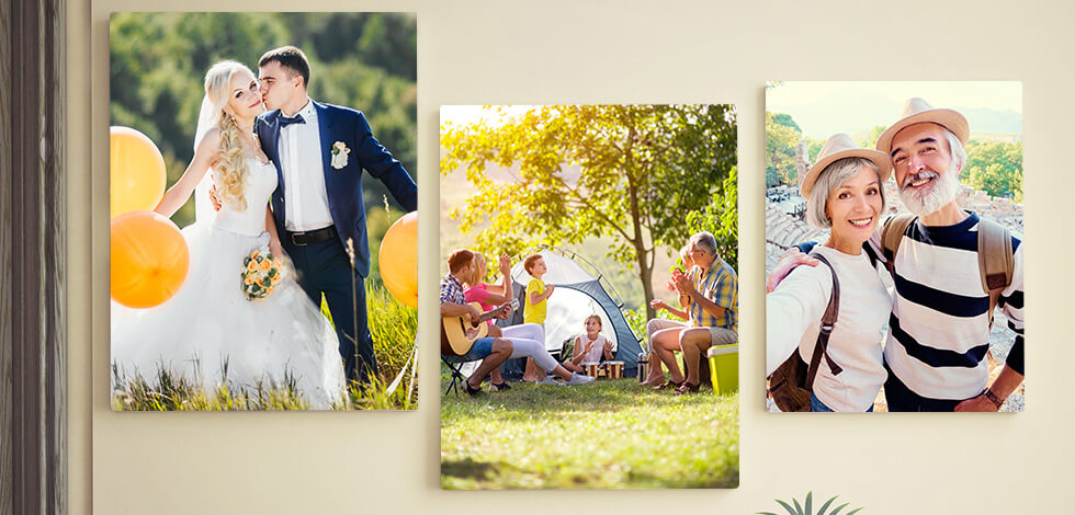 Personalised Canvas Prints From £10