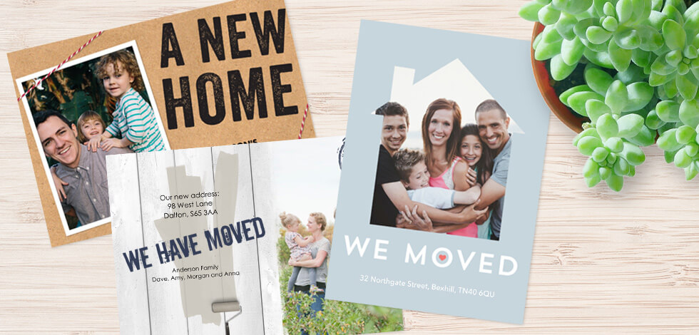 House Move Announcement Cards