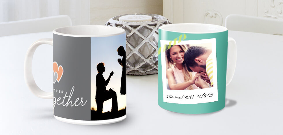 Personalised Photo Mugs From £7.99