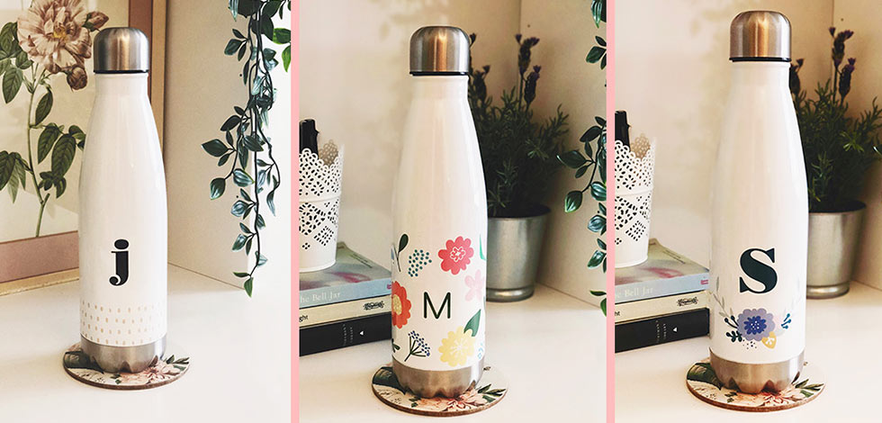 Personalised Water Bottle - Just £36.99