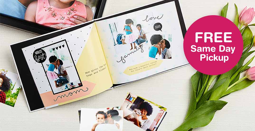 Personalized Mother's Day Photo Album